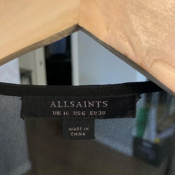 All Saints Dresses & Skirts - All Saints dress in black